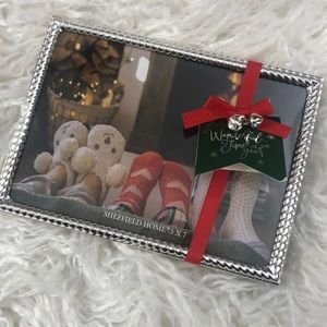 Sheffield Home 5x7 Silver Picture Frame
